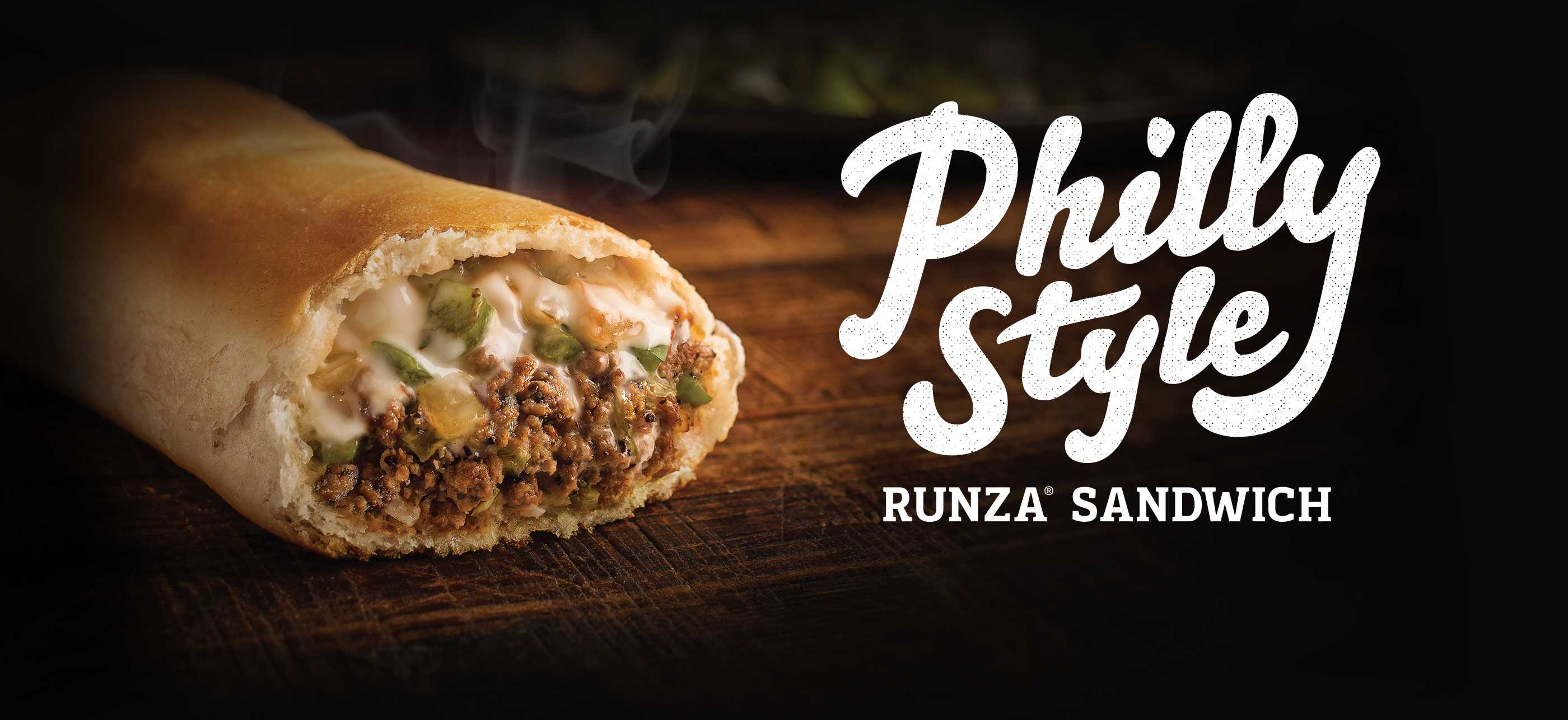 Philly-style Runza Sandwich