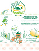 runza adventures under the sea